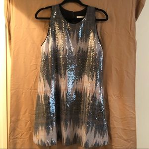 RACHEL Rachel Roy Mini Sequin Dress - SZ L.